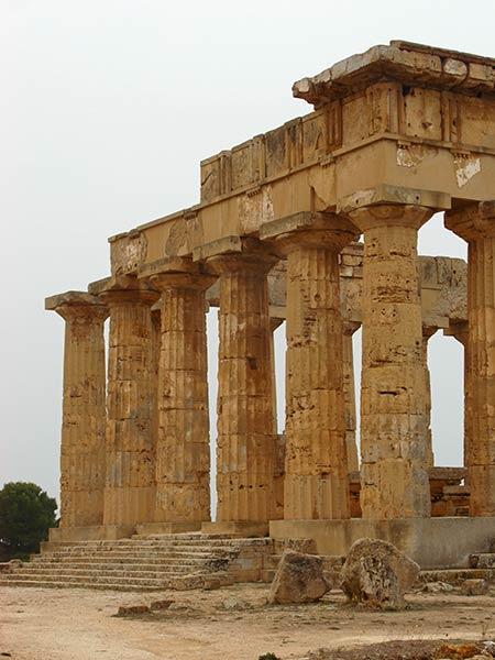 Sizilien Selinunte Tempel von Hera