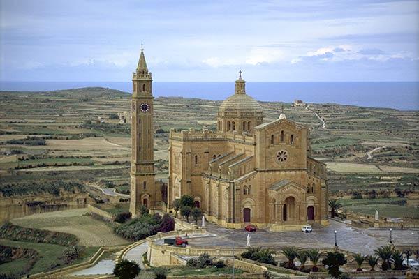 Basilique de Ta'Pinu, île de Gozo