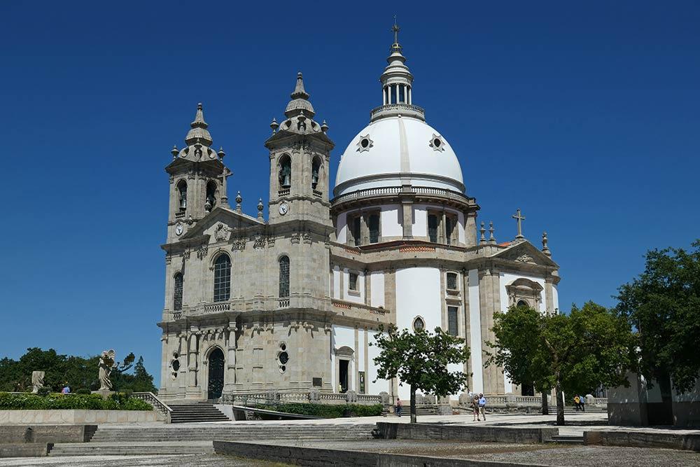 Braga, Basilika Unserer Lieben Frau von Sameiro