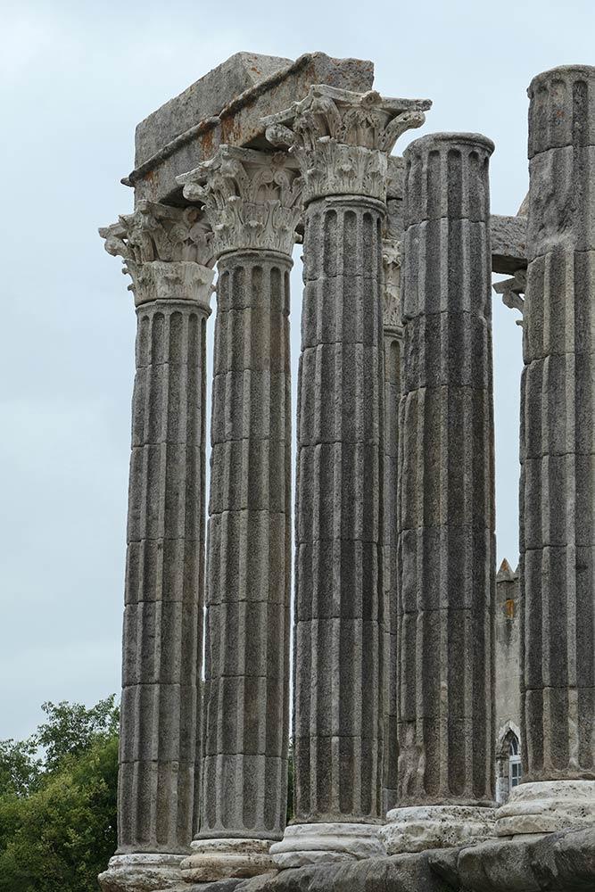 Evora, römischer Tempel