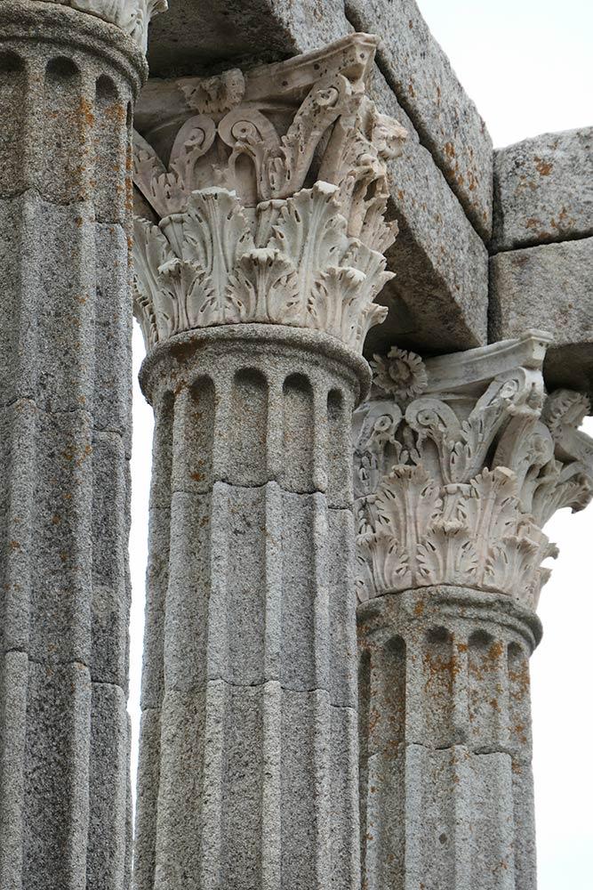 Evora, Tempio romano