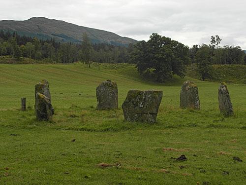 Círculo de pedras Kinnell, Killin