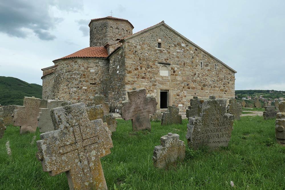 Novi Pazar, Iglesia de San Apóstoles Pedro y Pablo