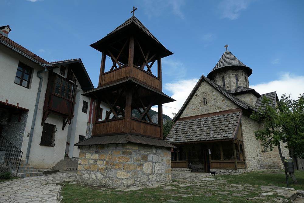 Ovcar Banja, Monastero di Blagovestenje