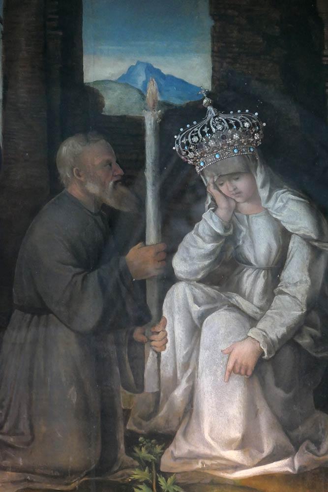 Kirche Mariä Erscheinung, Hauptaltar, Strunjan
