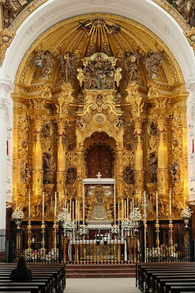 Росио, базилика Нуэстра-Сеньора-дель-Росио