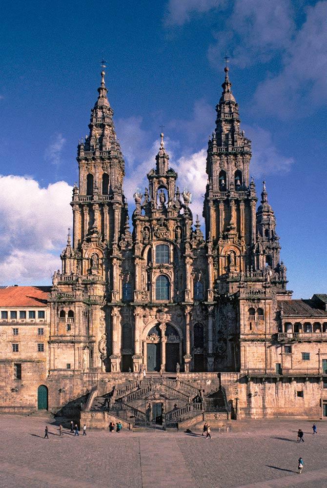 Santiago de Compostela, Kathedrale von Santiago de Compostela