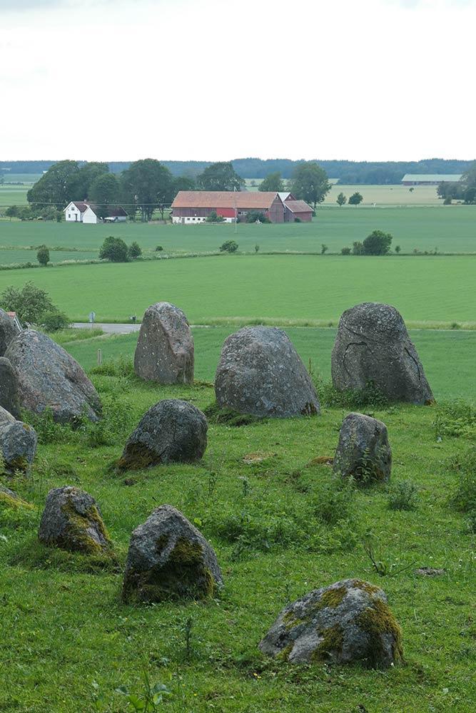 Amundtorp Gravfält पत्थर की अंगूठी