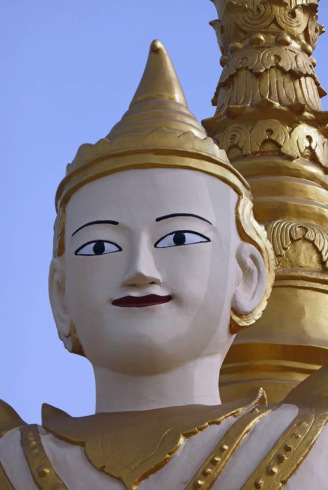 Pagode de Kyaik Khauk, Thanlyin