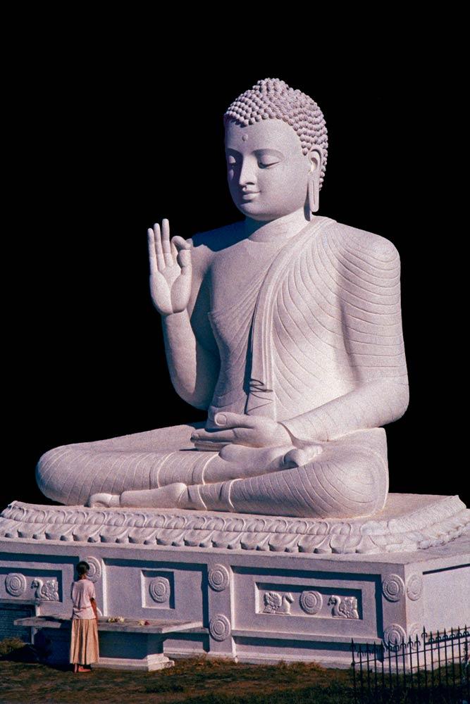 Mihintale Buddha, Sri Lanka