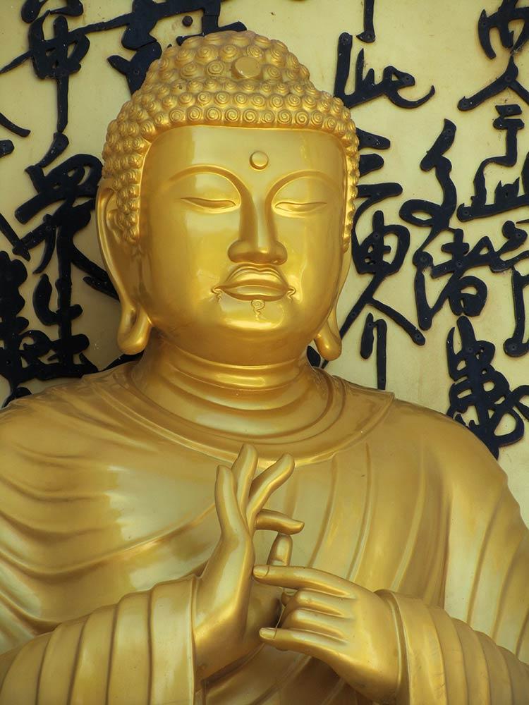 Pagoda de la paz estatua de Buda, Pokhara