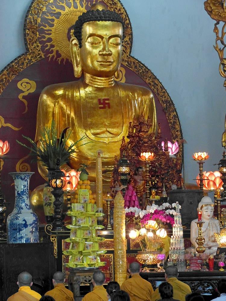 Храм Винь Нгхайм, Сайгон
