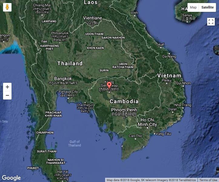 Азия Камбоджа Ангкор Ват