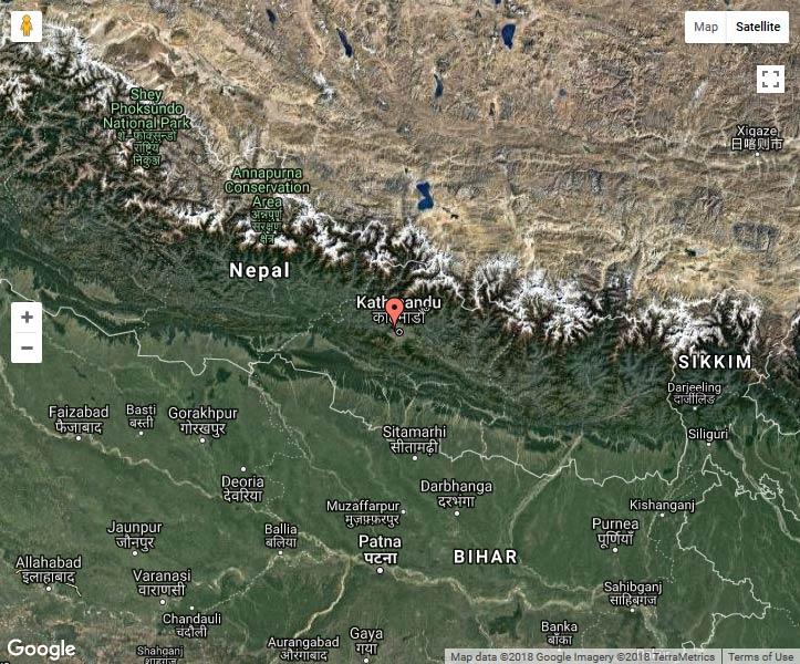 asie népal swayambhunath