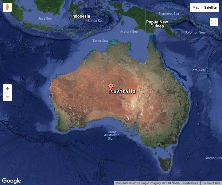 Океания Австралия Улуру