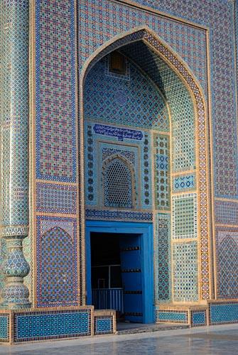 Die Blaue Moschee von Mazari Sharif
