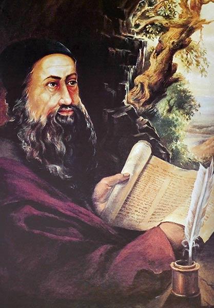 Картина раввина Шимона Бар Йохая