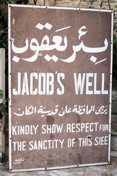 Jacob's Well unterschreiben