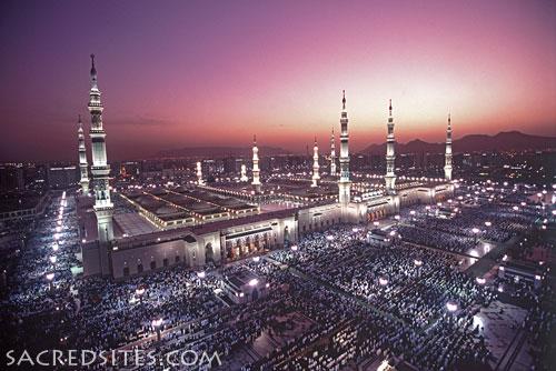 Мечеть Пророка, Медина