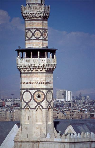 Minarete de la Gran Mezquita, Damasco